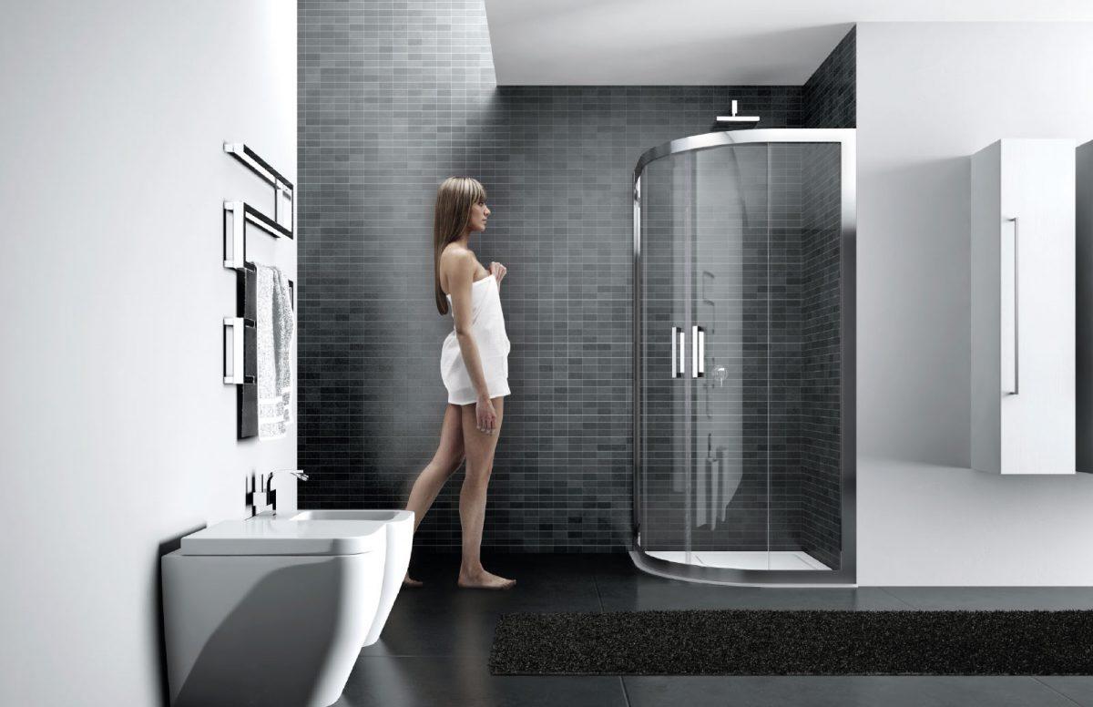 Quadro framed shower enclosure disenia - Disenia piatto doccia ...