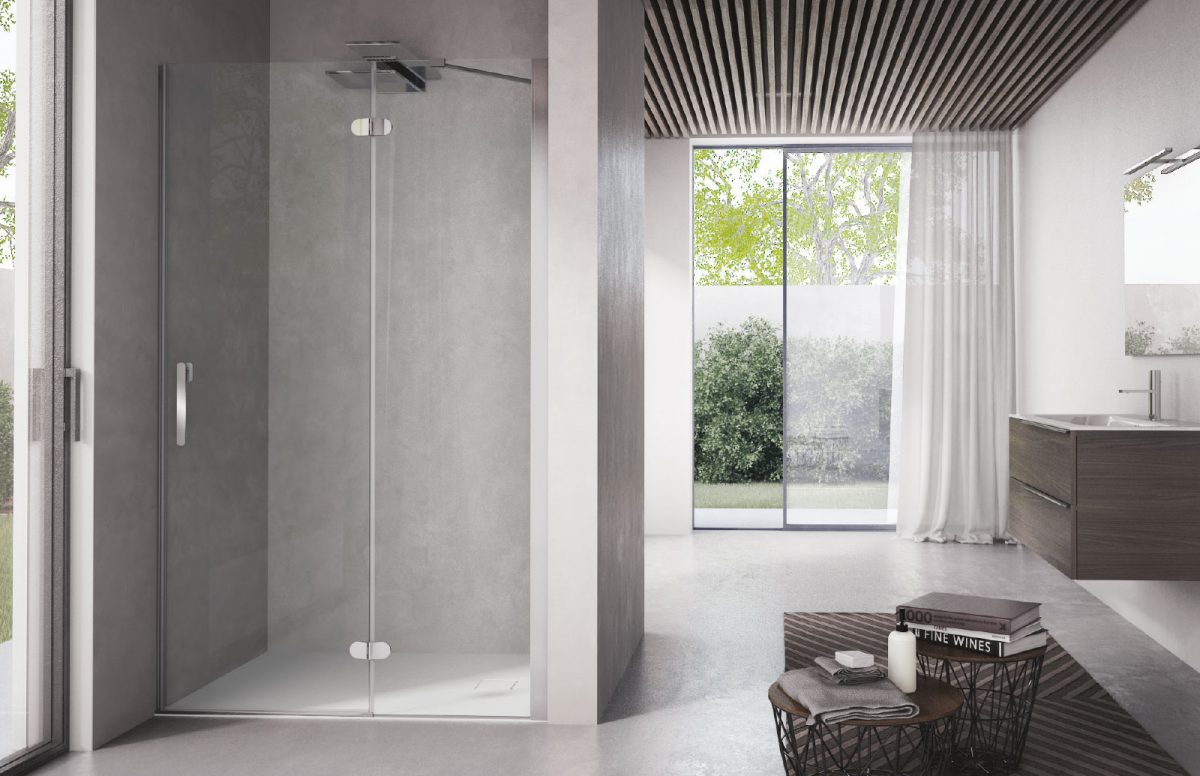 Flipper designer shower enclosure disenia - Box doccia design minimale ...