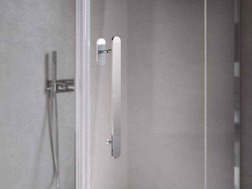 Flipper designer shower enclosure disenia - Box doccia design minimale ...