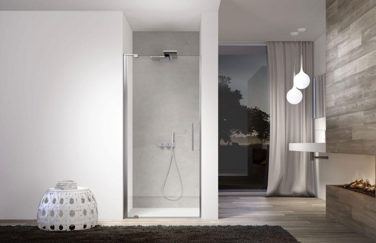 Slim designer shower disenia - Box doccia design minimale ...