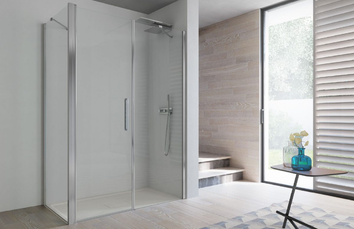 Minimal shower enclosures - Disenia