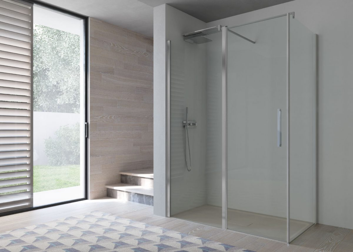 Omega - Alcove shower cubicle - Disenia