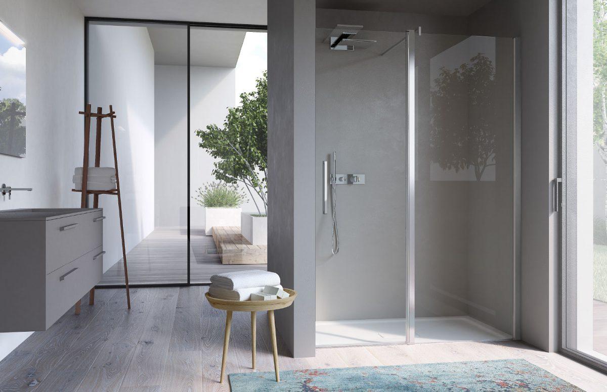 Omega alcove shower cubicle disenia - Box doccia design minimale ...