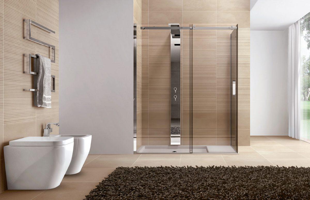Oops minimal shower enclosure disenia - Box doccia design minimale ...