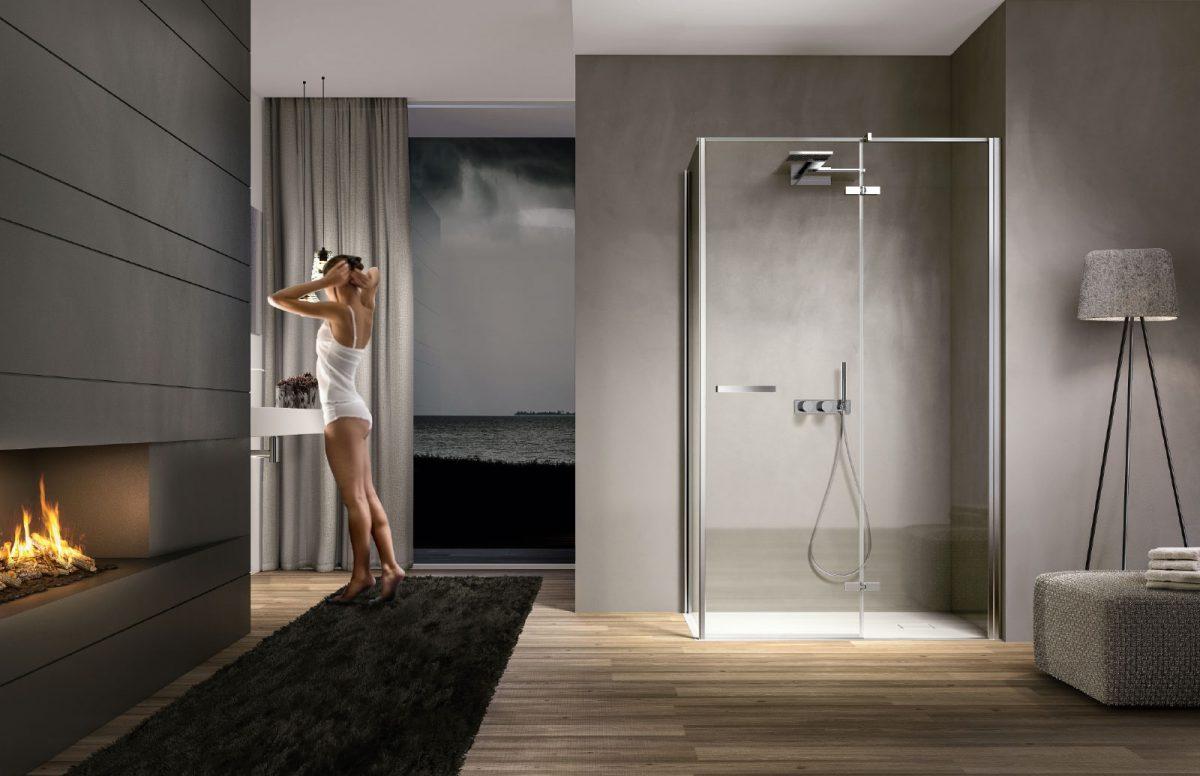 Minimal shower enclosures disenia - Bricoman cabine doccia ...