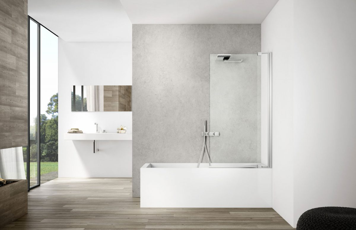 Smart Bathtub Screen