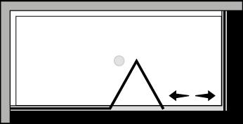 FRSFL + FRFI : Bi-fold door, fixed panel, fixed side panel (corner)