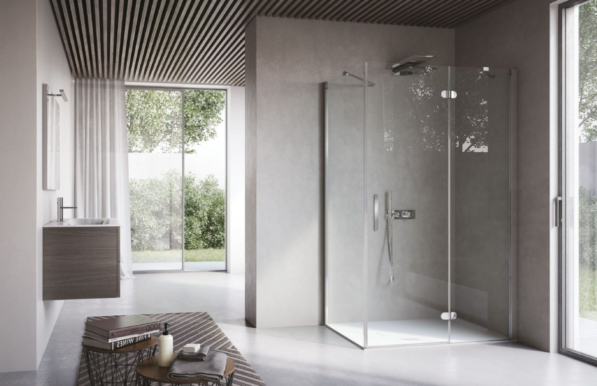 Box Doccia Design.Flipper Designer Shower Enclosure Disenia