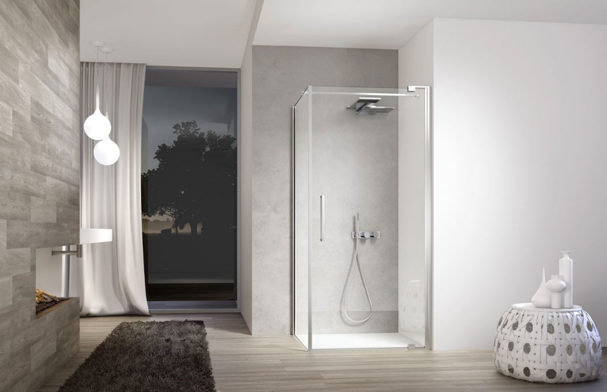 Box Doccia Design.Slim Designer Shower Disenia