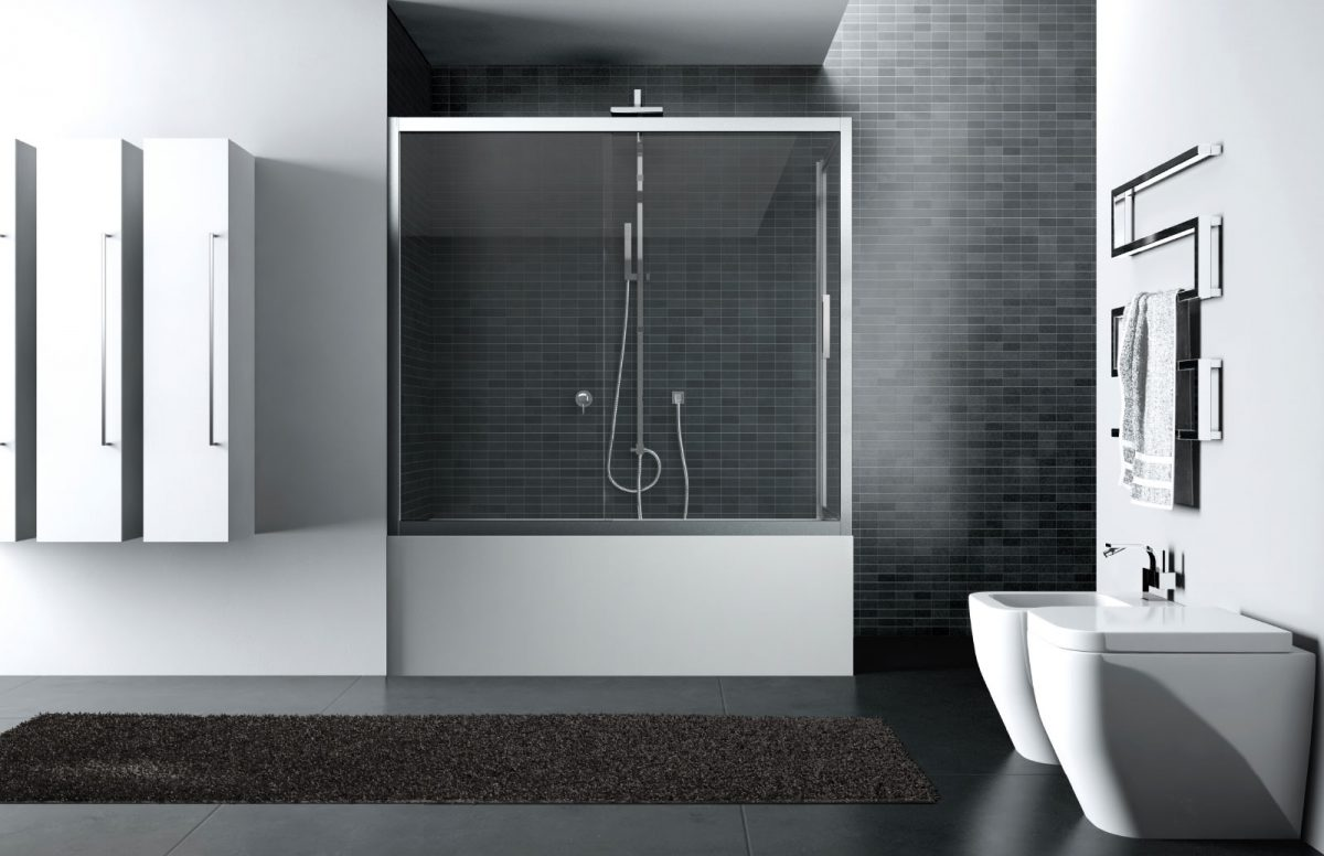 Quadro bathtub screen