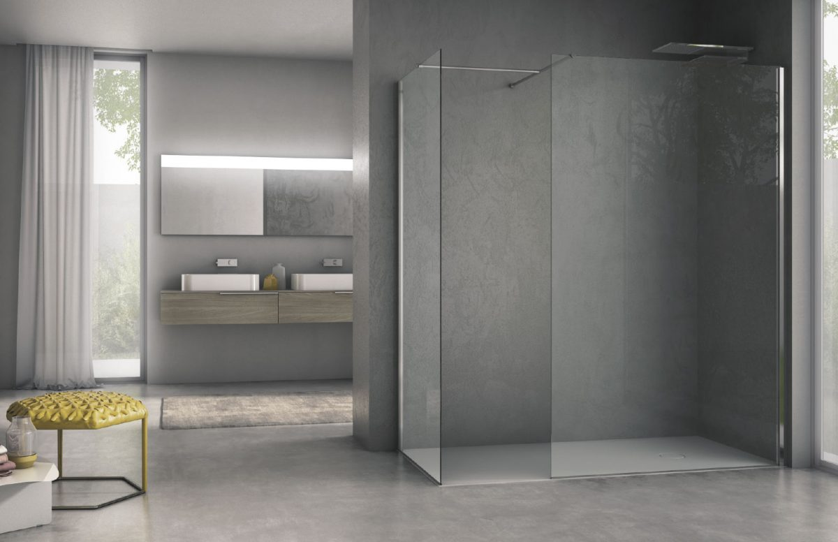 Air - Modern shower enclosure - Disenia