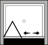 QUSF : Bi-fold door (alcove)